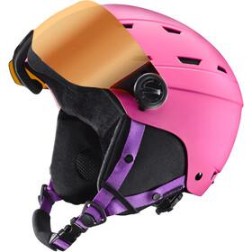 Julbo Norby Visor Casque de ski Enfant, pink